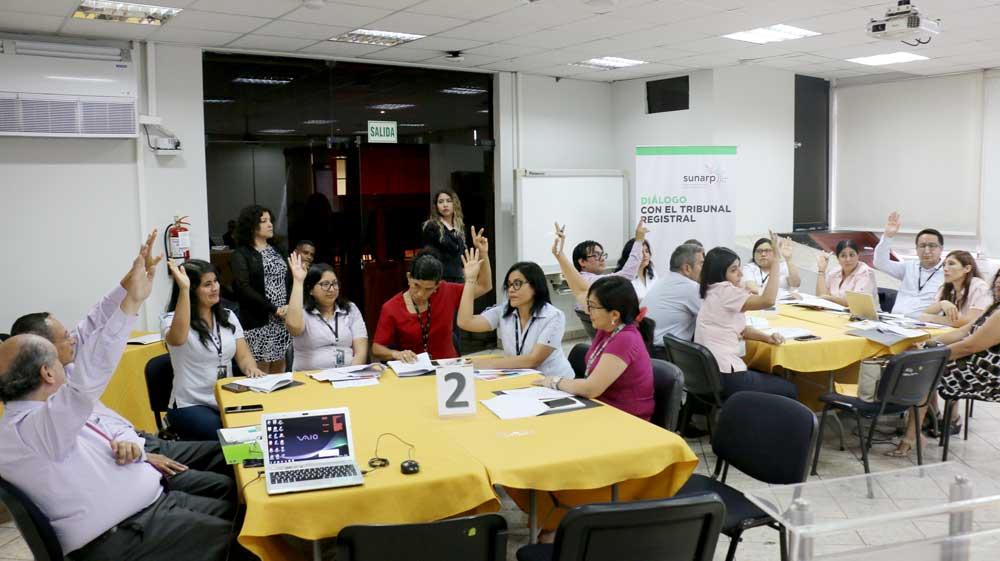 I Dialogo con el Tribunal Registral – modalidad virtual