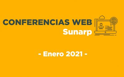 Conferencias Web Sunarp – Enero 2021